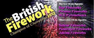 British Fireworks 2012