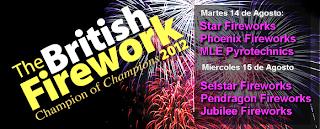 British Fireworks 2012