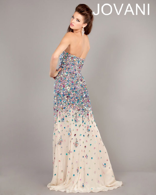 Jovani Prom Dresses 2013 long sequins