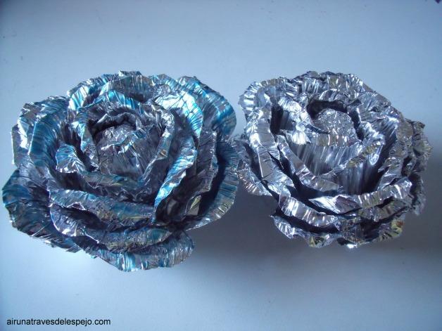 flores navidad metal diy