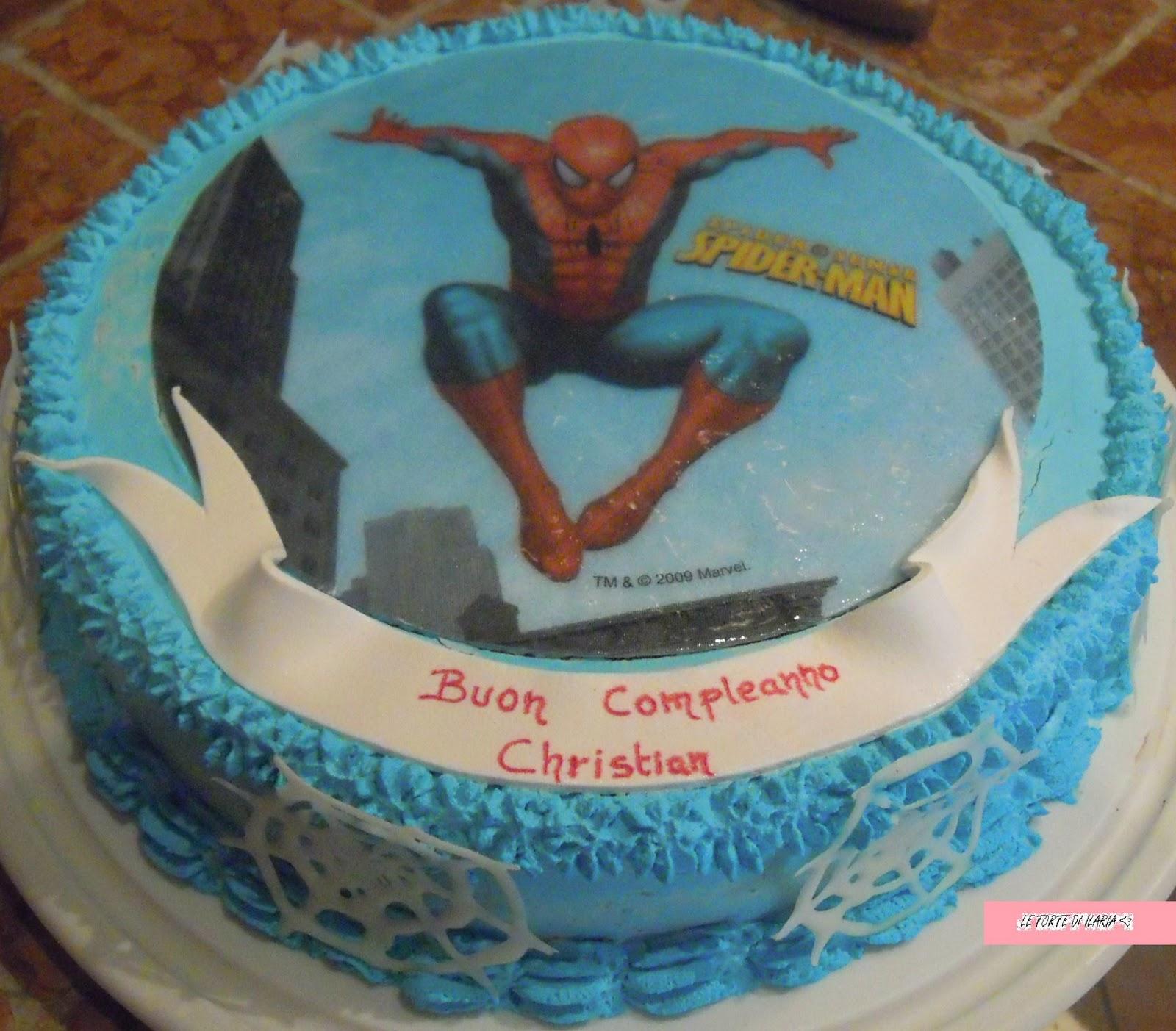 Le torte di ilaria una torta alla michael bubl for Decorazione torte spiderman