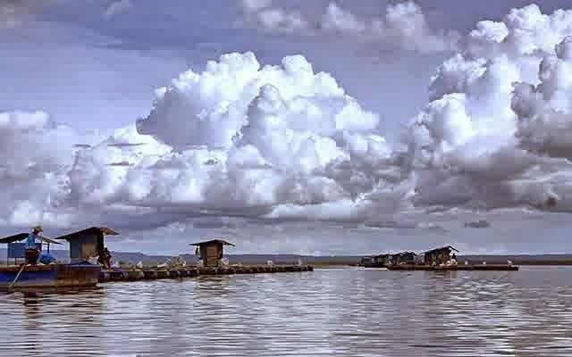 Gambar Waduk Gajah Mungkur Wonogiri