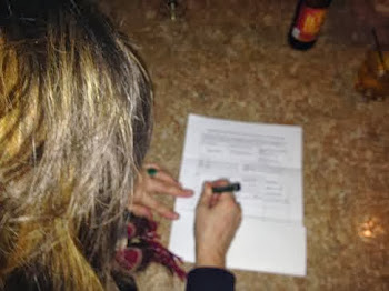 City Resident Signs Woolfie Petition at Pete's