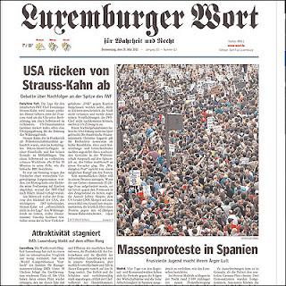 El movimiento 15M en la prensa internacional