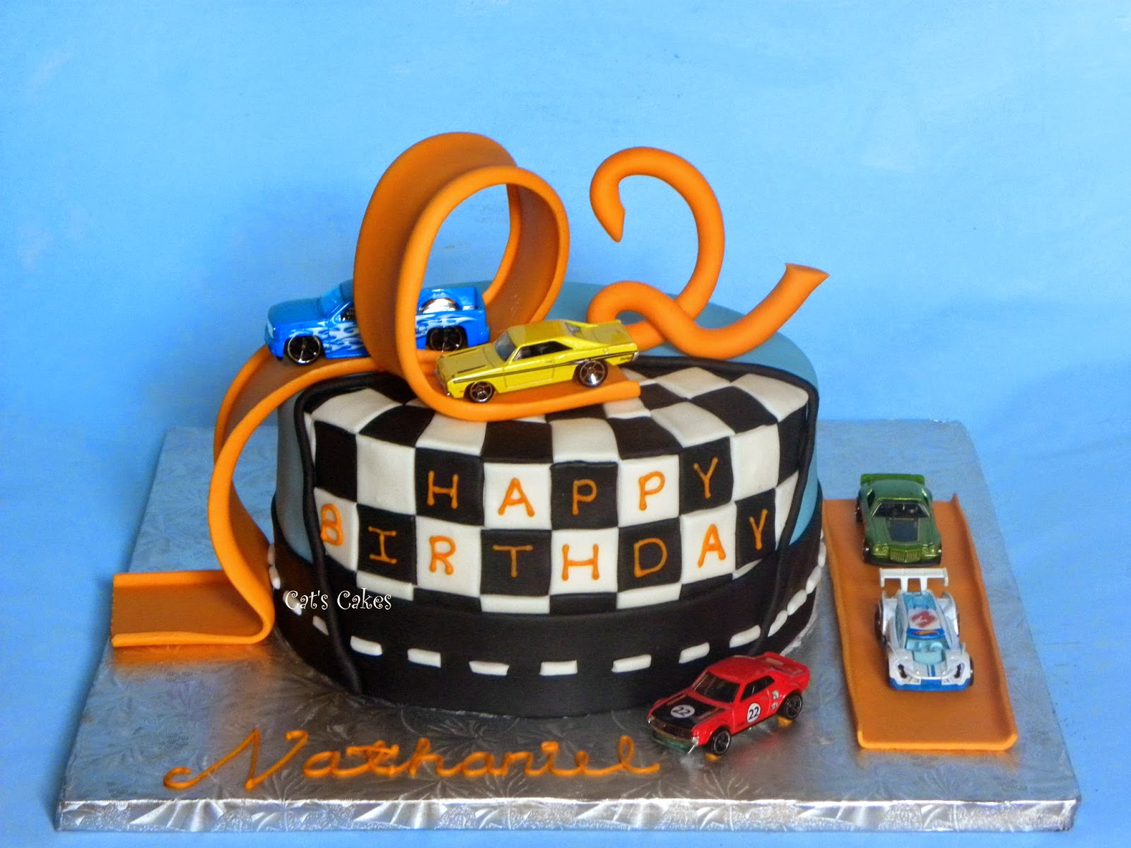 Cat s Cakes: Hot Wheels Cake