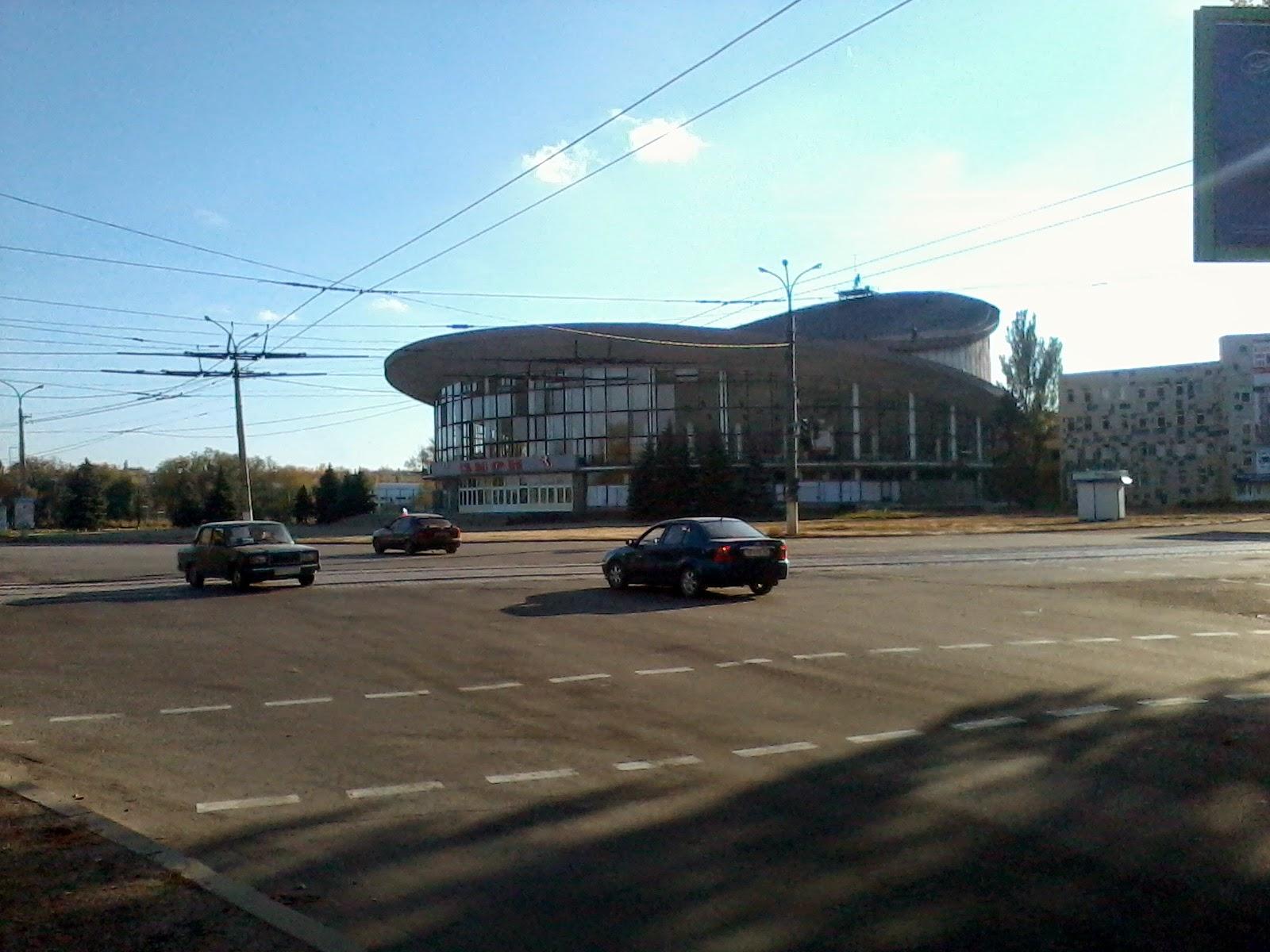 Фото разрушений в центре луганска 4