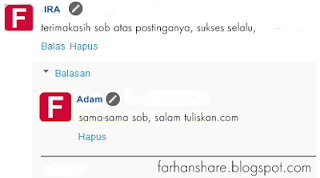 Cara Membuat Threaded Comment di Blog
