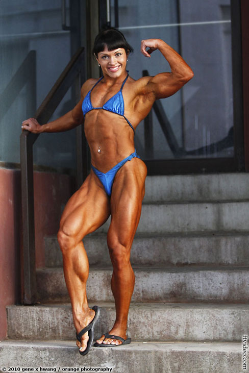 Marina Lemonovskaya Female Muscle Bodybuilding Blog FTVideo