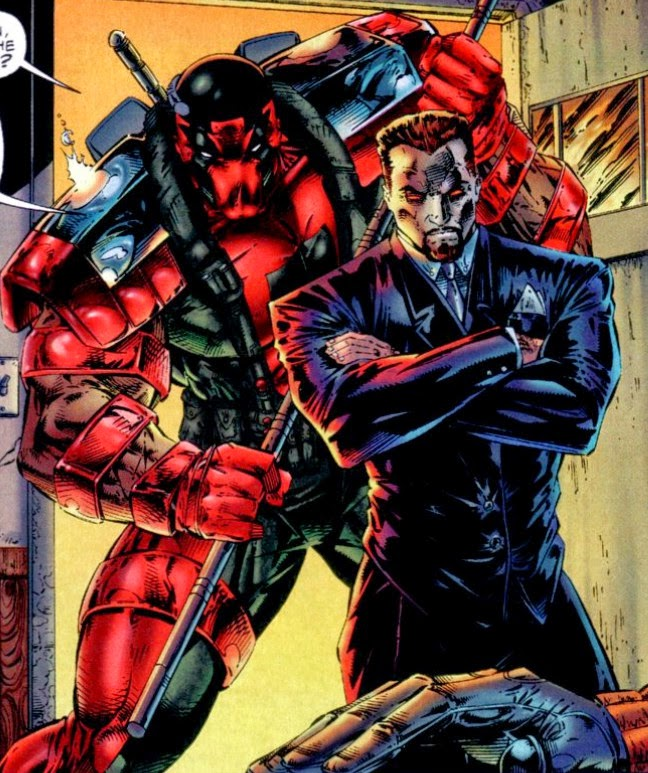 Backlash 1 Pike Daemonite Mr. Sinister Deadpool