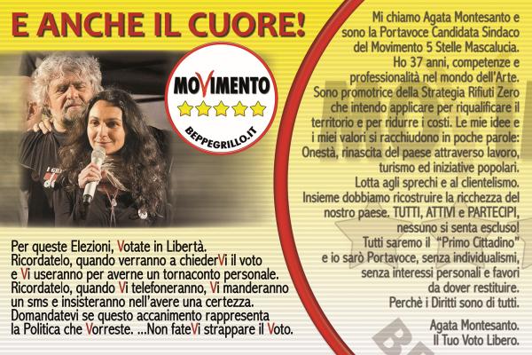 Elezioni 2013 Mascalucia: ...e anche il cuore!