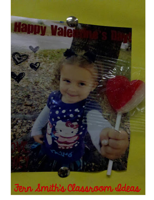 An Amazing Idea for a Valentine's Day Card! AT Fern Smith's Classroom Ideas!