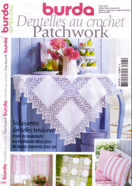 Burda, Crochet Patchwork