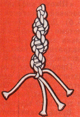 Левосторонняя и правосторонняя крученые цепочки