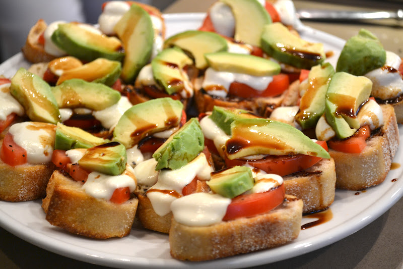 Italian style bruschetta the fresh find for Great party appetizer recipes