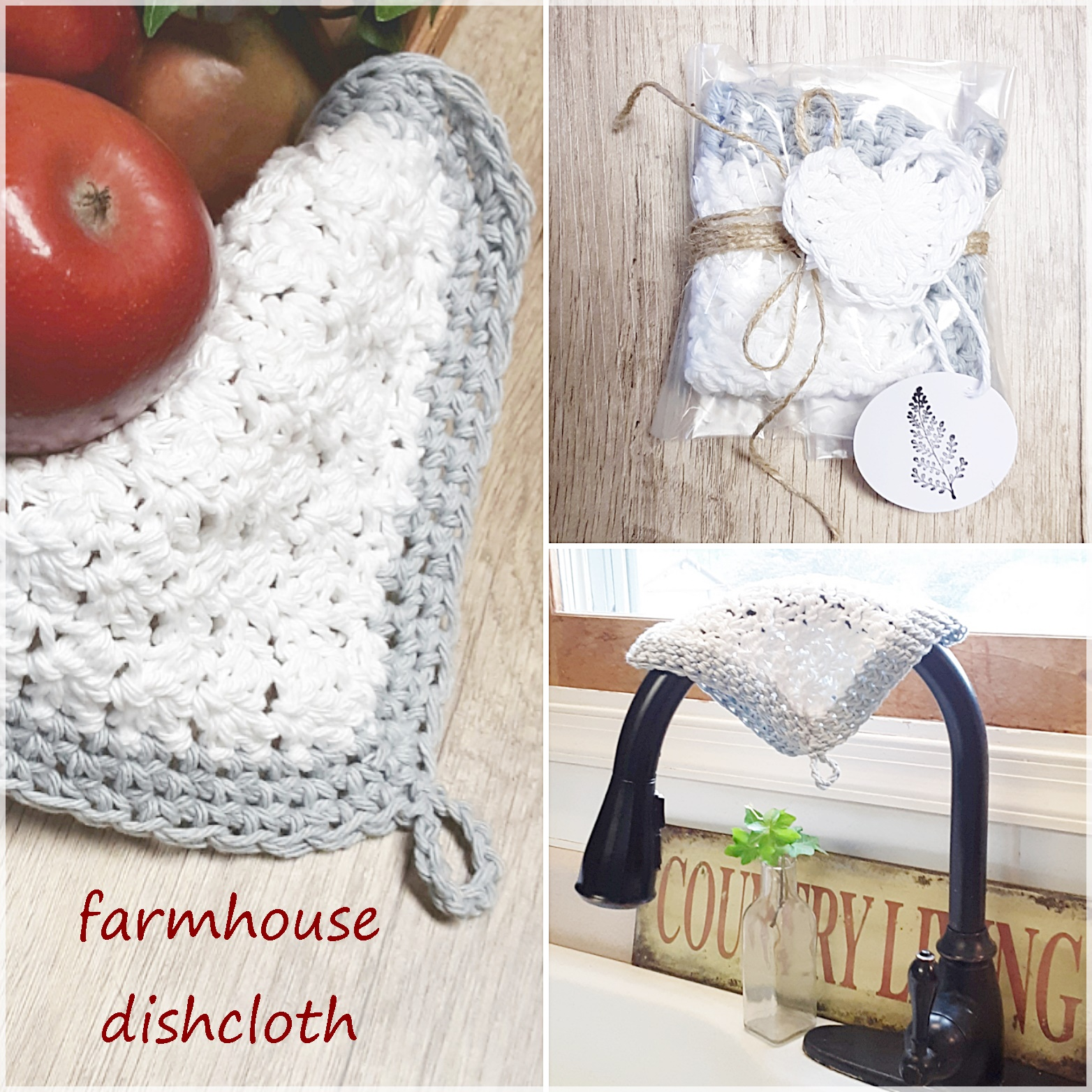 Farmhouse Dishcloths