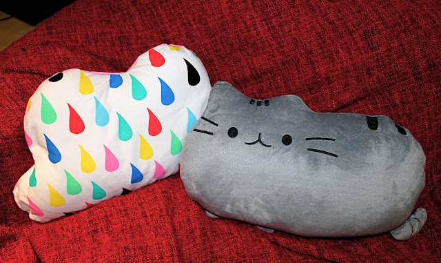 pusheen cushion cloud rain cushion homeware