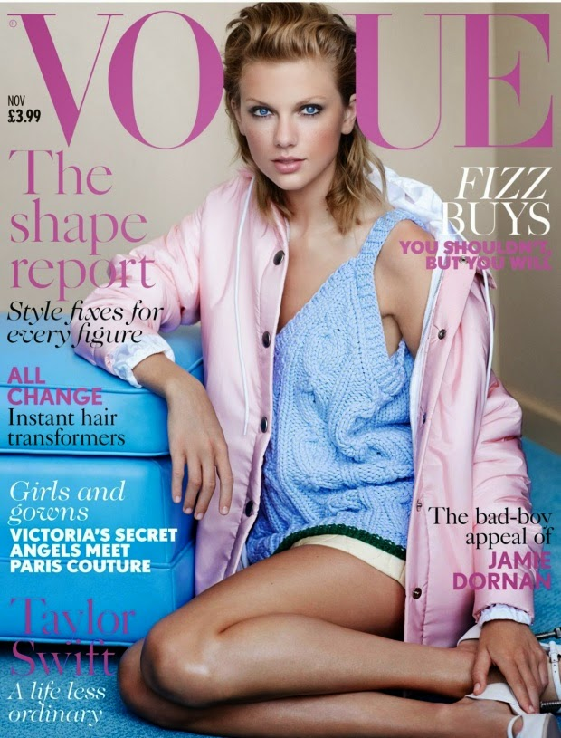 Taylor Swift in Vogue Magazine