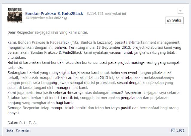 facebook Bondan Prakoso Fade2black