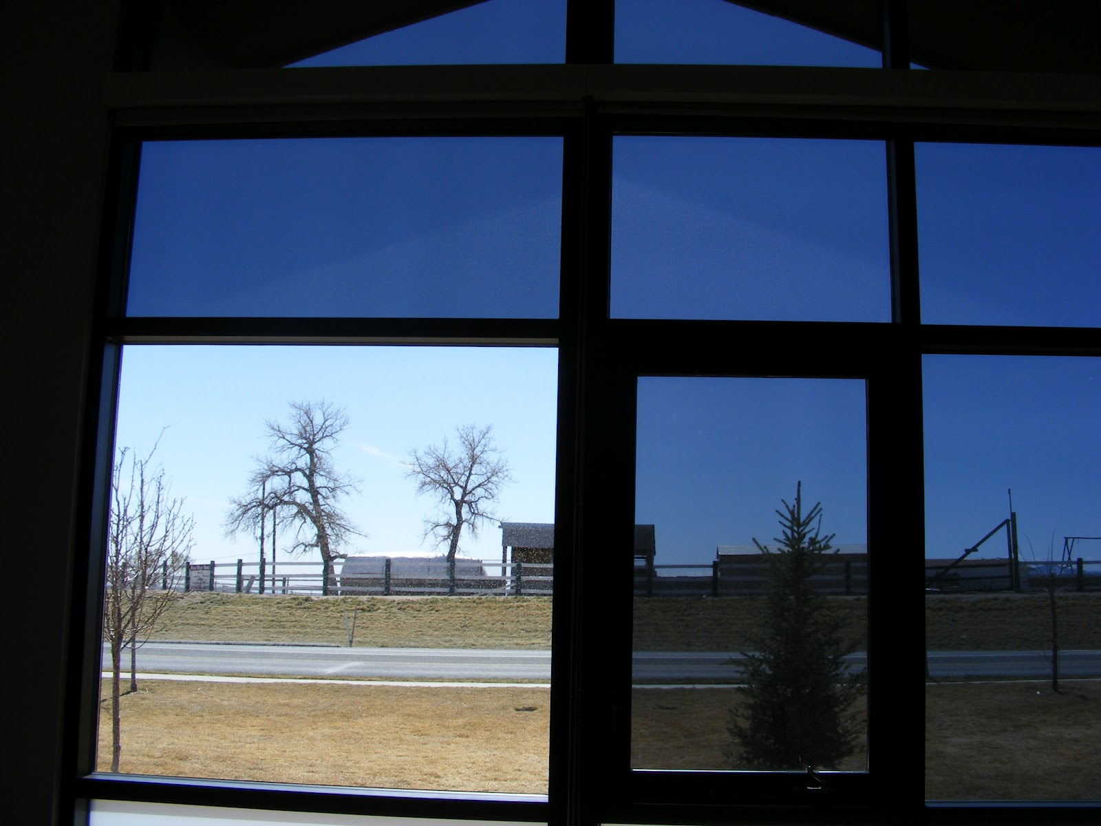 Clear view window films optivision 15 provides max for Window tint film