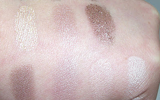 Urban Decay book of shadows iv swatches
