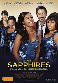 Movie poster for The Sapphires film
