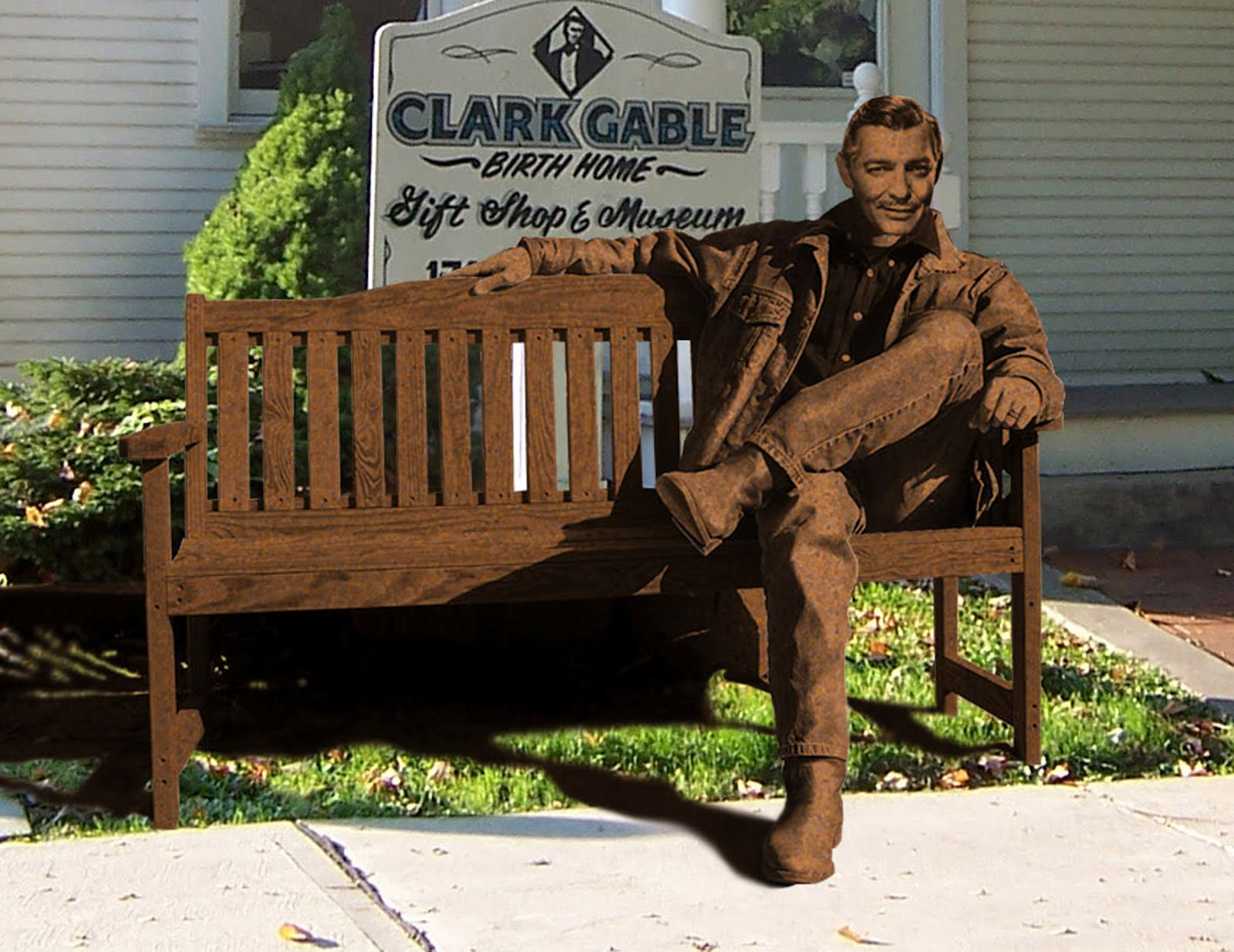 a classic movie blog: the kickstarter campaign to put clark gable