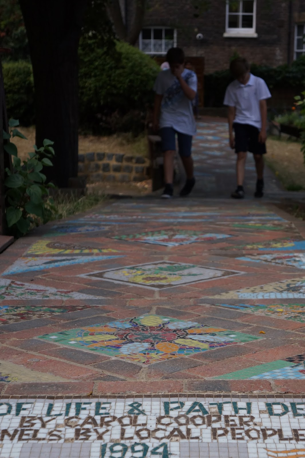 calthorpe project mosaic pavement road