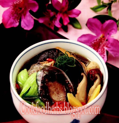 Chinese matrimony vine ginseng eel soup