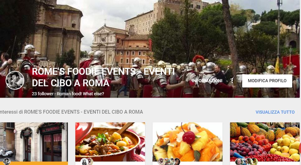 ROME'S FOODIE EVENTS