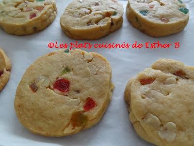 Biscuits «frigidaire» tutti frutti (Bonne Année 2014!)