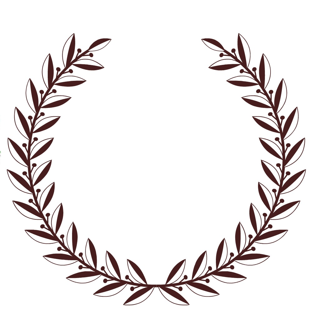 free printable laurel wreath