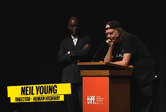 Neil Young beim TIFF Toronto 2014