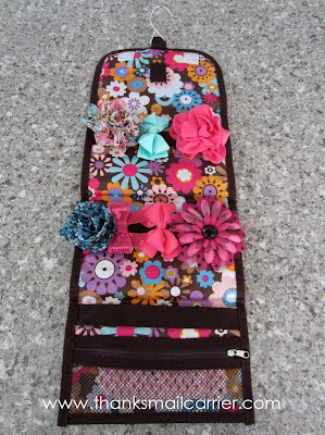 hair clip travel bag
