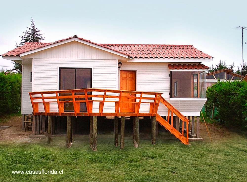 Arquitectura de casas modelos de casas prefabricadas en - Casas de madera fotos ...