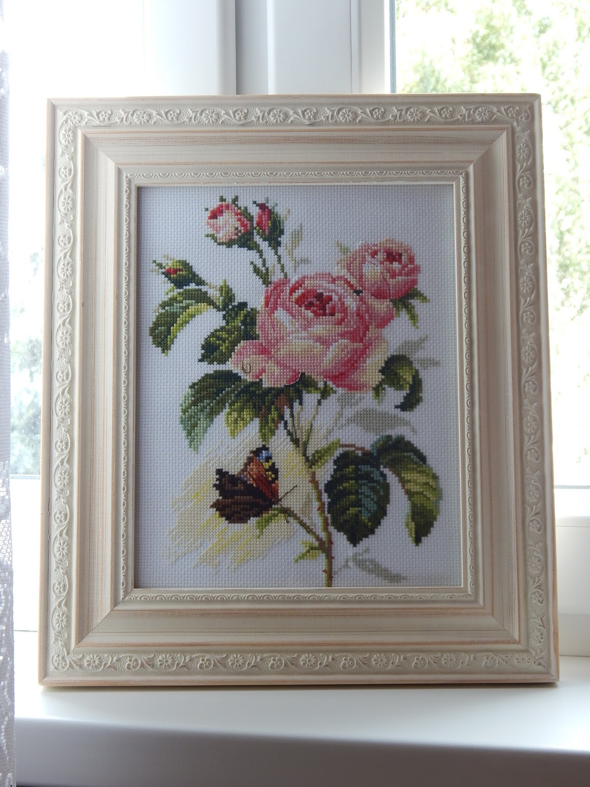 Róża i motyl