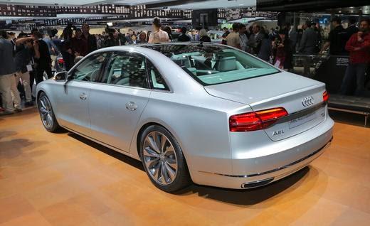 Audi A8 2015 no Salão do Automóvel