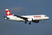 Der Airbus kommt aus der Lagunenstadt Venedig als LX 1663 nach Zürich zurück . (swiss international air lines airbus hb ije net)