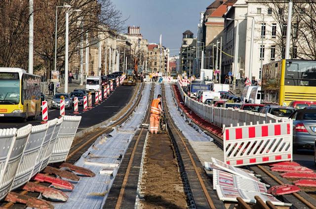 Baustelle Invalidenstraße, Ecke Friedrich-List-Ufer, 10557 Berlin, Europaplatz, 11.03.2014