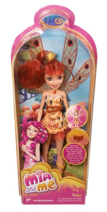 TOYS : JUGUETES - Muñeca Yuko con anillo : MIA AND ME  Producto Oficial   Mattel BJR48   A partir de 3 años
