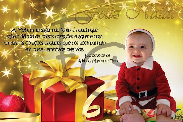 cartao de natal personalizado