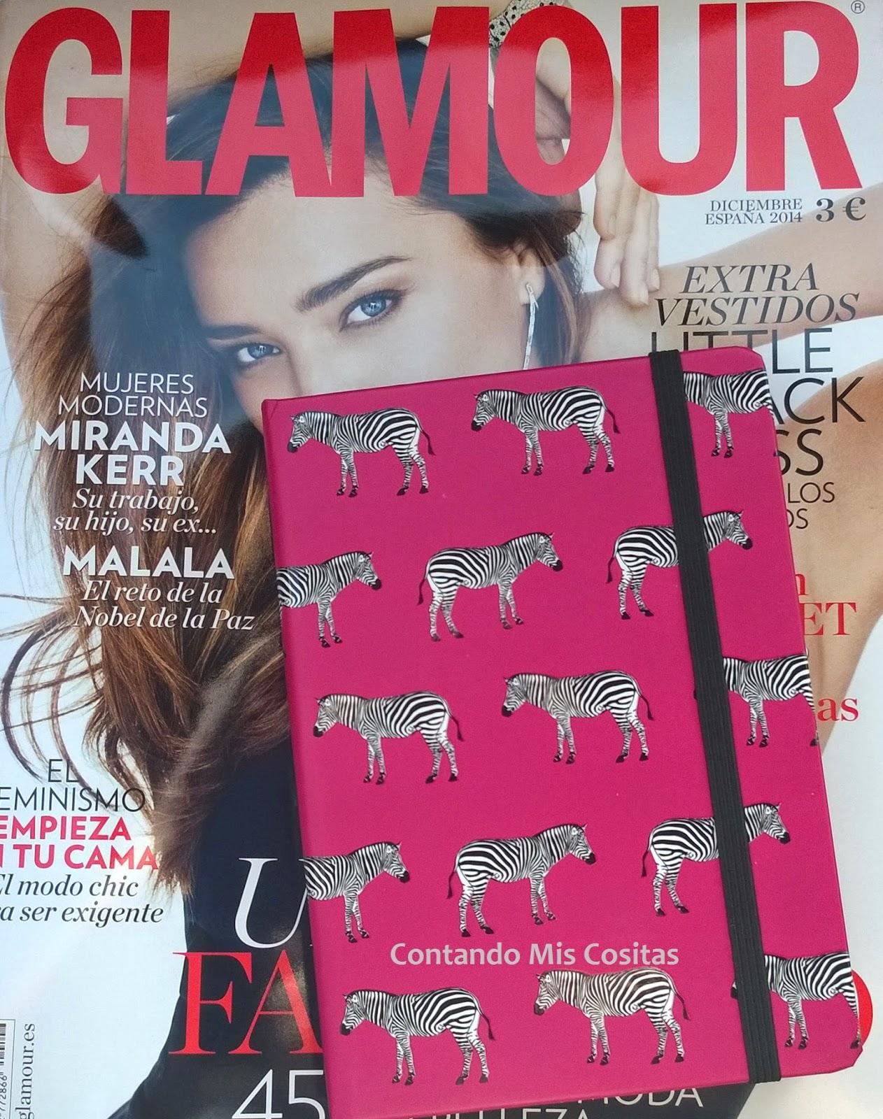 agenda glamour 2015 regalo revista diciembre 2015