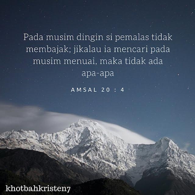 amsal 20:4
