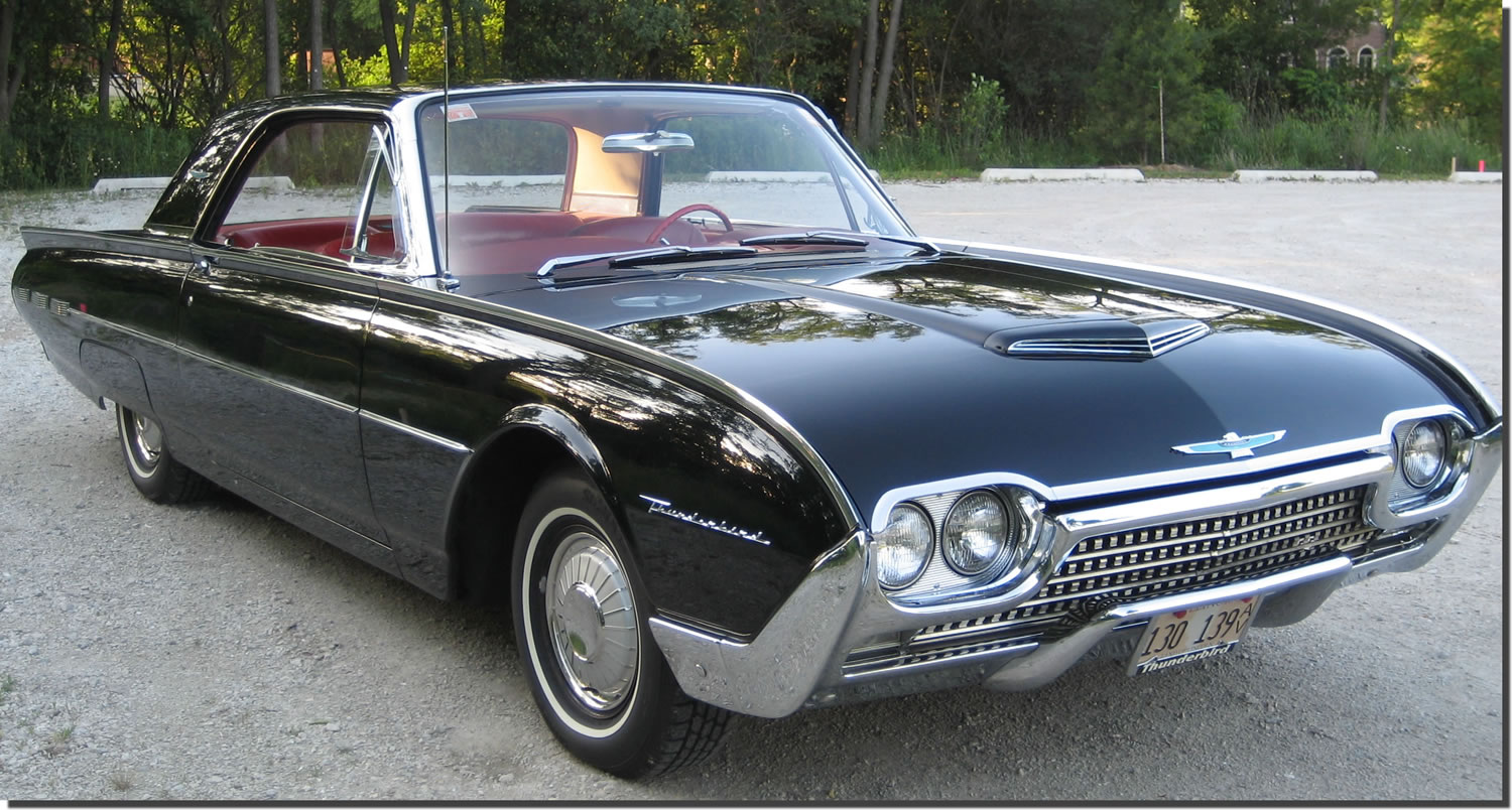 How Old Is A Classic Car 1962 Ford Thunderbird
