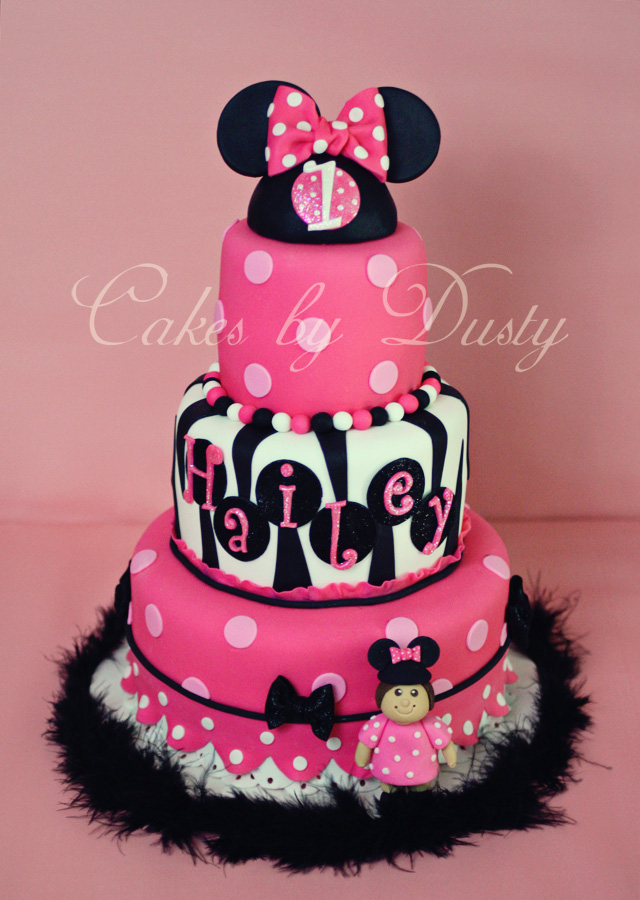 Cakes by Dusty: Haileys Minnie Mouse Cake