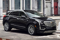 Cadillac XT5 (2017) Front Side