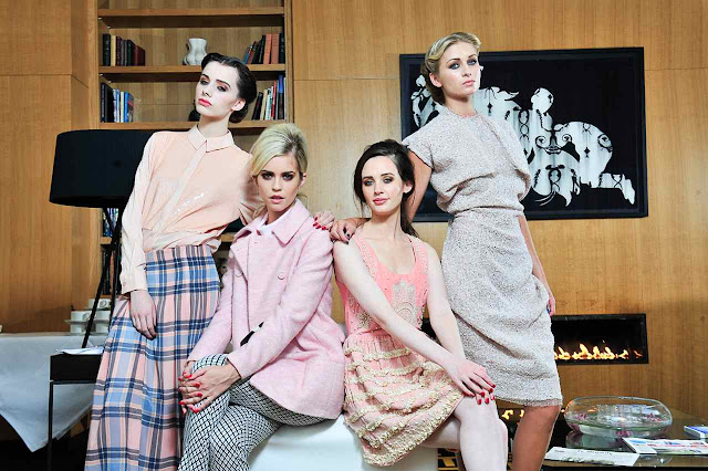 BFW+Models1 Belfast Fashion Week AW13 Launch