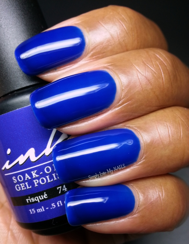 Glam & Glits Ink Risque (#74) | Simply Into My NAILS
