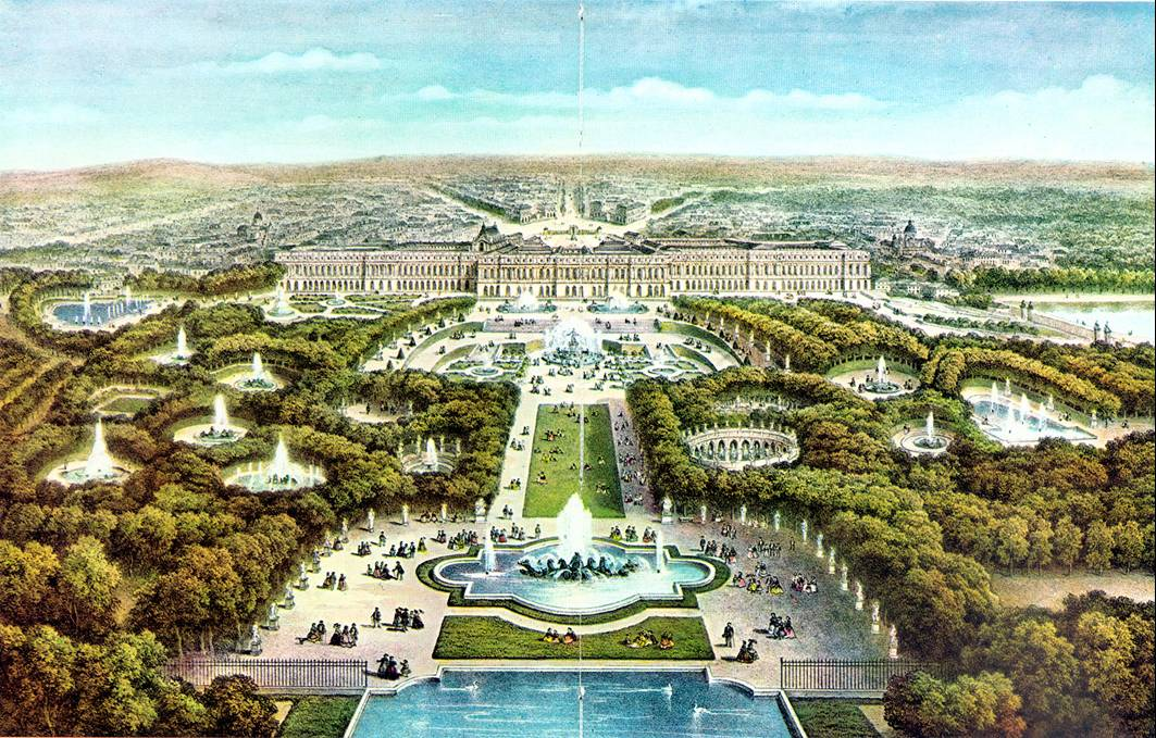 Palace Versailles France Garden