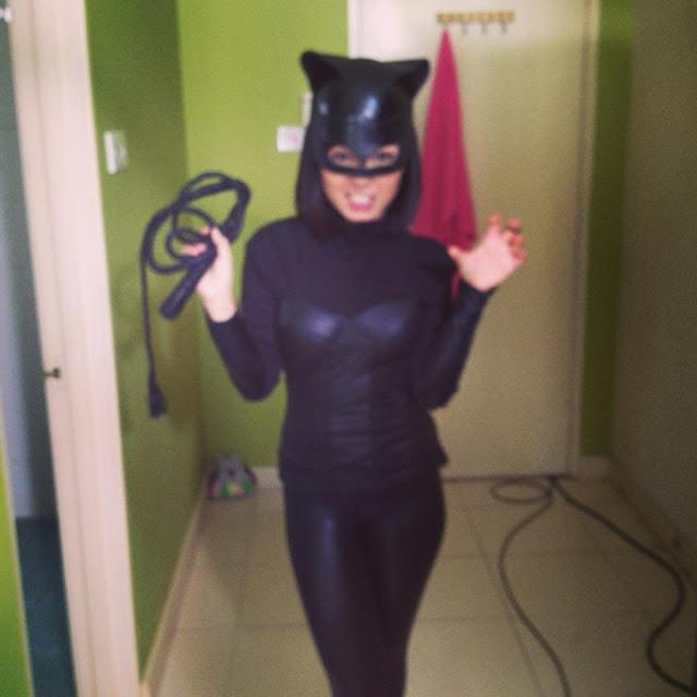 "Nad Zainal Nampak Seksi Pakai Kostum Catwoman ""meow"""