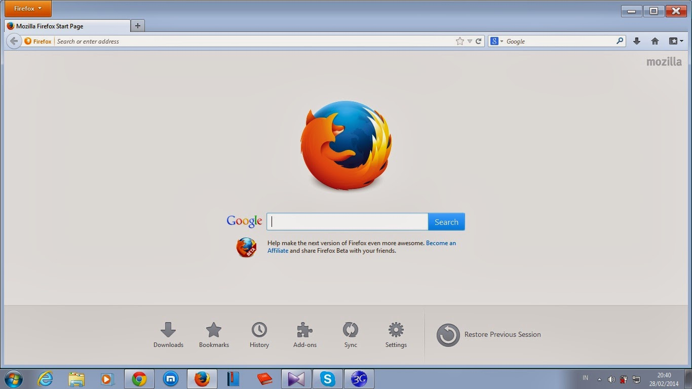 Free Download Mozilla Firefox Beta Update Terbaru